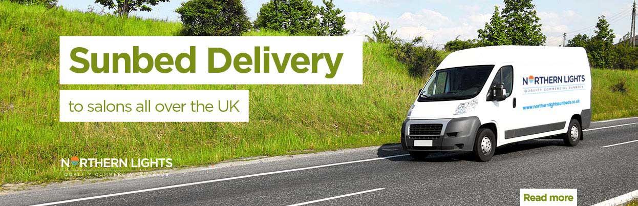 sunbed delivery uk